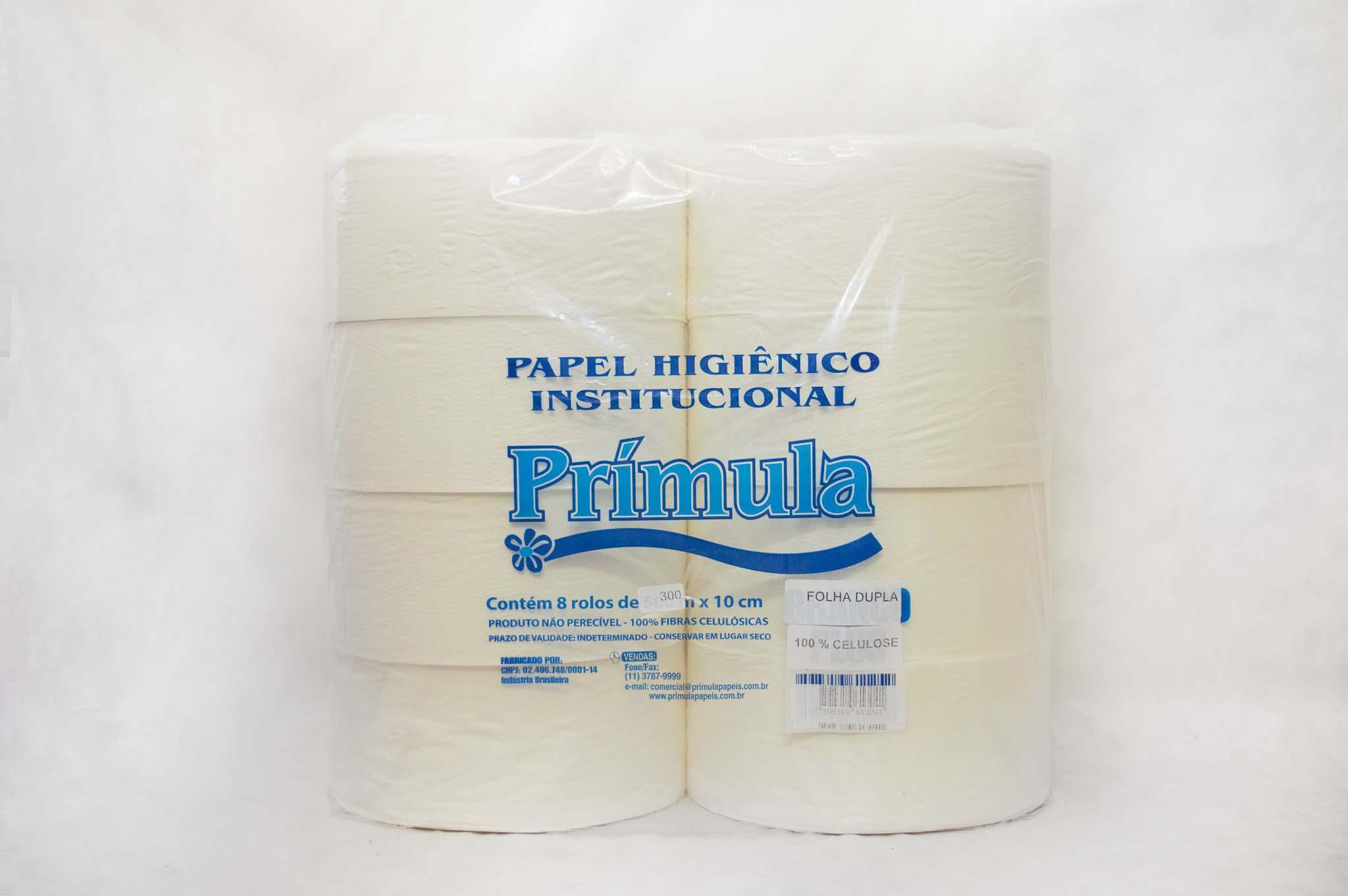 Papel higiênico rolão folha dupla