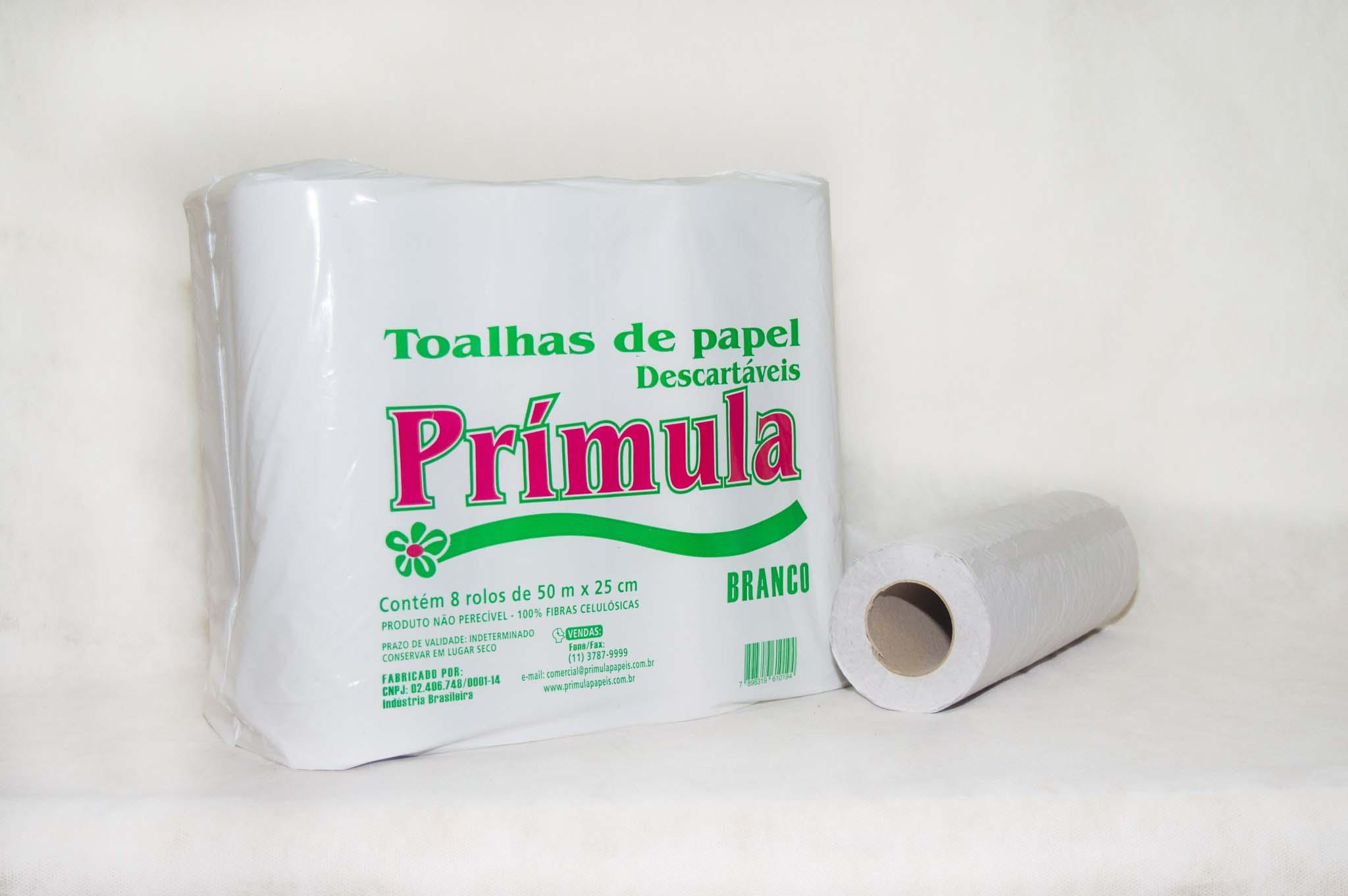 Papel toalha de bobina