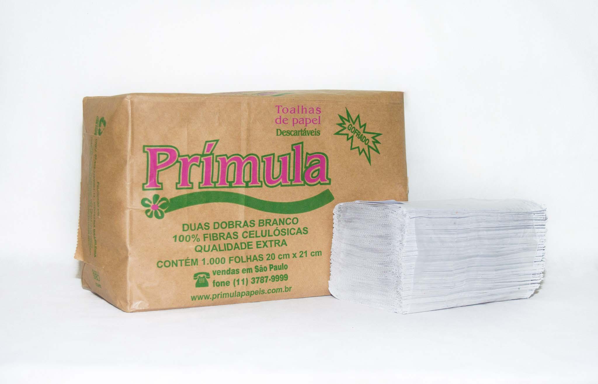 Papel toalha interfolha 2 dobras preço